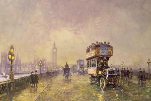 Going Home, Westminster Bridge by John Sutton