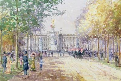 Summer in the Mall, C.1910 by John Sutton