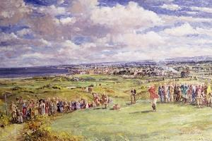 The Fifth Tee, St. Andrew's, 1921 by John Sutton