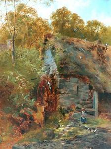Chagford Mill, Devon by John Syer