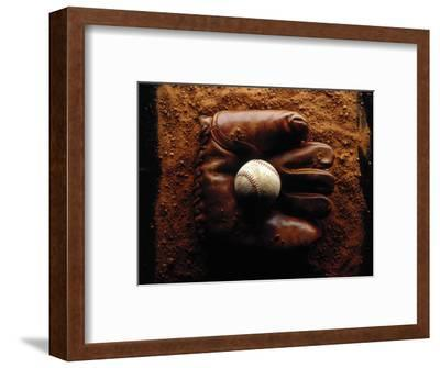 Baseball in Antique Glove