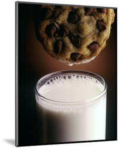 Chocolate Chip Cookie and Milk by John T^ Wong