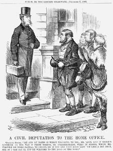 A Civil Deputation to the Home Office, 1867 by John Tenniel