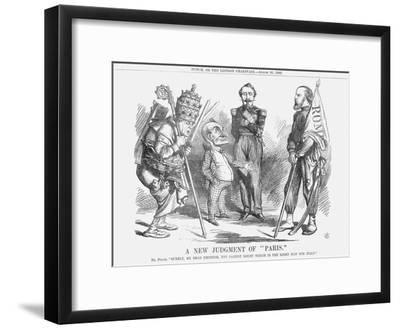A New Judgement of Paris, 1862