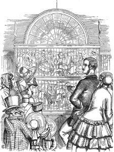 Albert (1819-186), Prince Consort of Queen Victoria, at the Great Exhibition, 1851 by John Tenniel