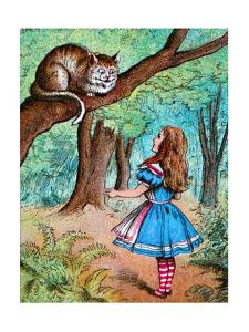 'Alice and the Cheshire Cat', c1910 by John Tenniel