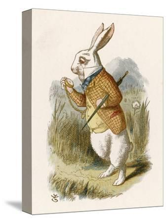 Alice and the White Rabbit