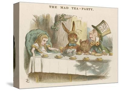 Alice at the Mad Hatter's Tea Party