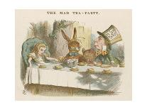 The Shower of Cards, Illustration from Alice in Wonderland by Lewis Carroll-John Tenniel-Giclee Print
