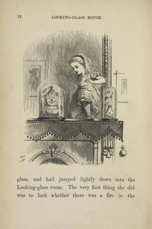 Alice in the Looking-glass Room by John Tenniel