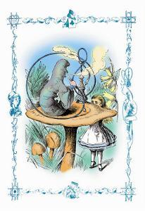 Alice in Wonderland: Advice from a Caterpillar by John Tenniel