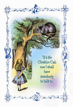 Alice in Wonderland: It's the Cheshire Cat by John Tenniel