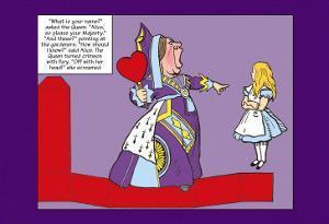 Alice in Wonderland: The Queen of Hearts by John Tenniel