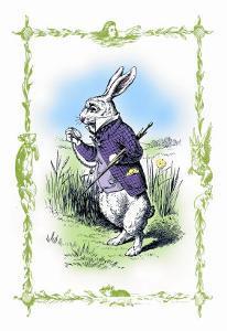 Alice in Wonderland: The White Rabbit by John Tenniel