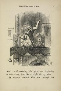 Alice Looking at the Mirror by John Tenniel