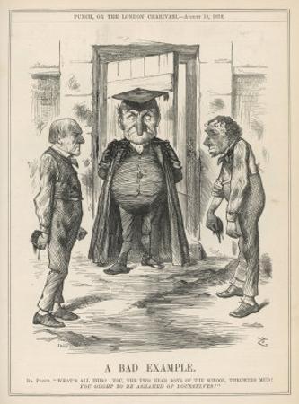 Bad Example, Disraeli and Gladstone at Loggerheads