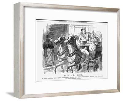 Beef À La Mode, 1867