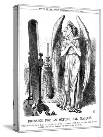 Benjamin Disraeli, British Conservative, Cartoon from Punch, 1864