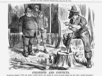 Colonists and Convicts, 1864