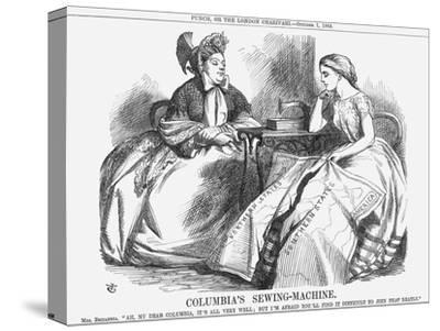 Columbia's Sewing-Machine, 1864