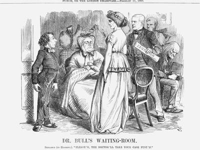 Dr. Bull's Waiting-Room, 1868