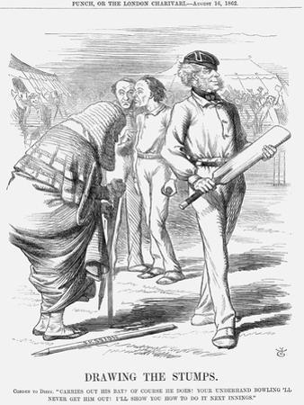 Drawing the Stumps, 1862
