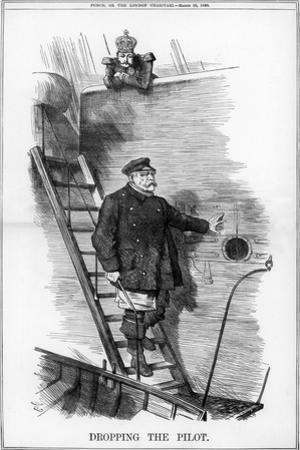 Dropping the Pilot, 1890