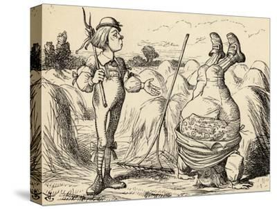 Father William Standing on His Head, from 'Alice's Adventures in Wonderland' by Lewis Carroll,…