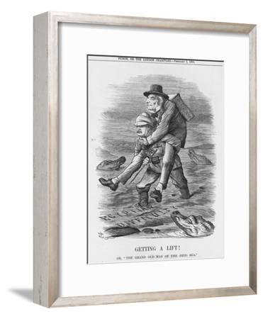 Getting a Lift, 1884