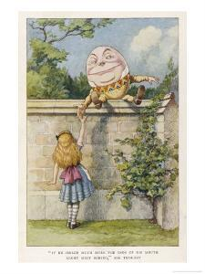 If He Smiled Much More the Ends of His Mouth Might Meet Behind by John Tenniel