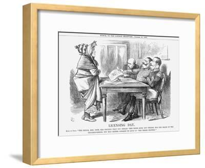 Licensing Day, 1867