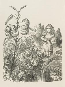 Living Flowers Alice and the Living Flowers by John Tenniel