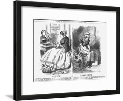 Medium and Re-Medium, 1864