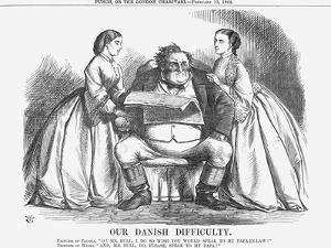 Our Danish Difficulty, 1864 by John Tenniel