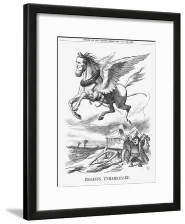 Pegasus Unharnessed, 1865