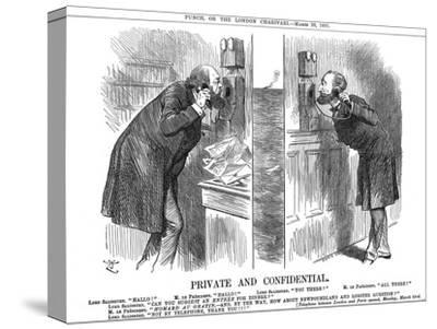 Private and Confidential, Opening of the Anglo-French Telephone Line, 1891