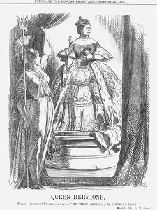 Queen Hermione, 1865 by John Tenniel