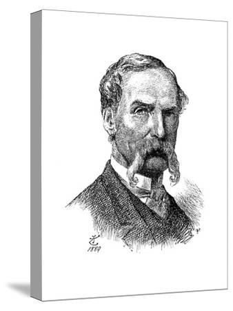 Sir John Tenniel, British Artist and Cartoonist, 1889