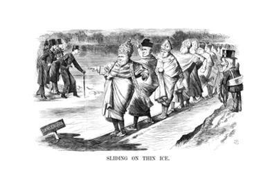Sliding on Thin Ice, 1869