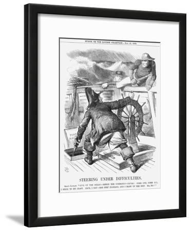 Steering under Difficulties, 1868