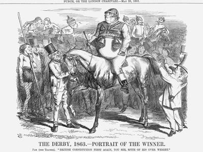 The Derby 1863 - Portrait of the Winner, 1863