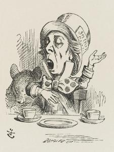 The Hatter Sings by John Tenniel