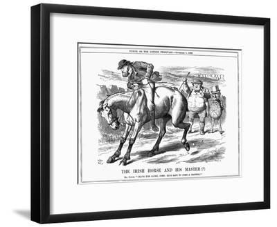 The Irish Horse and Master , 1885