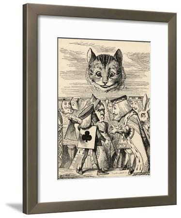 The King of Hearts Arguing with the Executioner, from 'Alice's Adventures in Wonderland' by Lewis…