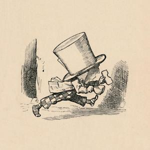 'The Mad Hatter, in the chapter 'The Tarts'', 1889 by John Tenniel
