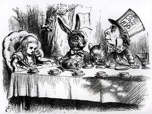 The Mad Hatter's Tea Party by John Tenniel