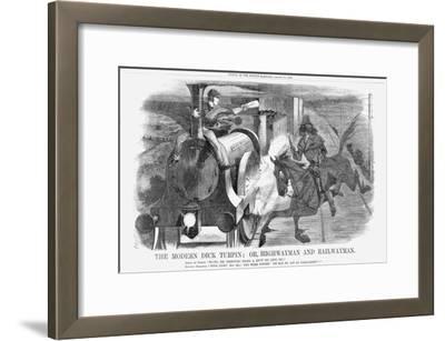 The Modern Dick Turpin; Or, Highwayman and Railwayman, 1868