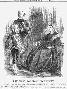 The New Foreign Secretary, 1865 by John Tenniel