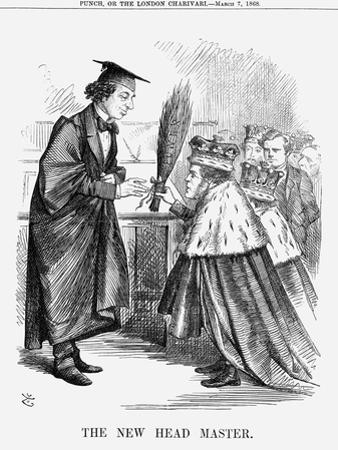 The New Head Master, 1868