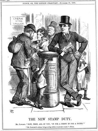 The New Stamp Duty, 1880